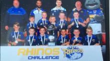 Royals U9s Rhinos Challenge Winners 2015